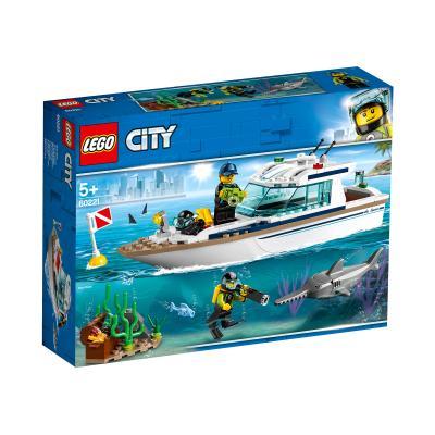 Купить LEGO ЯХТА ДЛЯ ДАЙВИНГА, LEGO (60221)