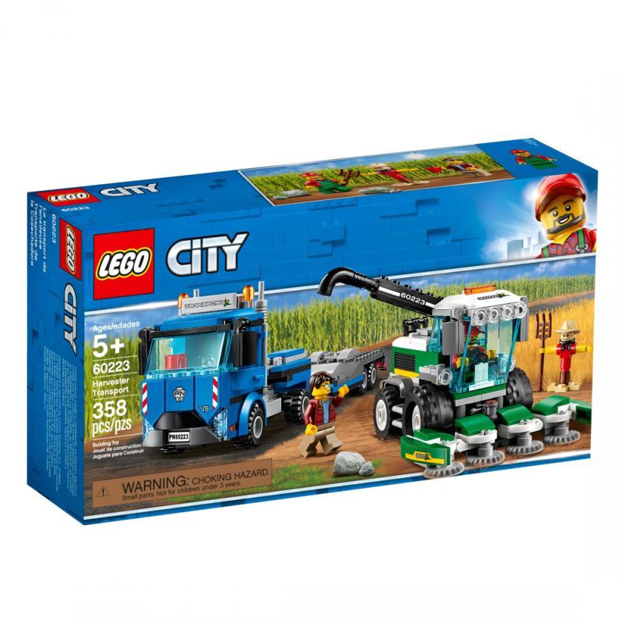 Купить LEGO ТРАНСПОРТИРОВЩИК ДЛЯ КОМБАЙНОВ, LEGO (60223)