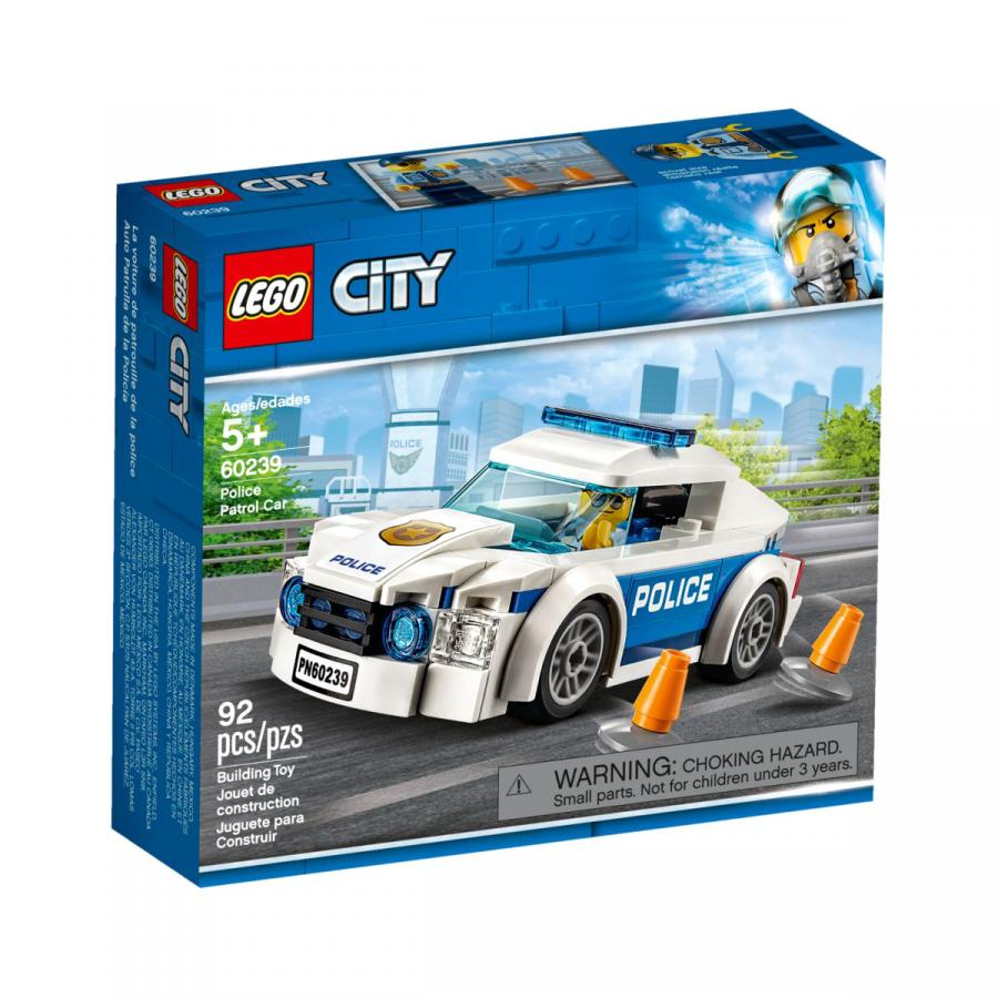 Купить LEGO АВТОМОБИЛЬ ПОЛИЦЕЙСКОГО ПАТРУЛЯ, LEGO (60239)