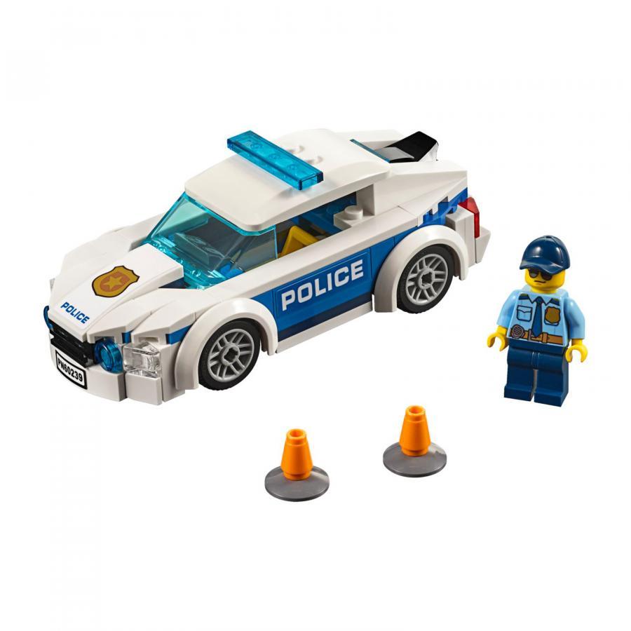 Купить LEGO АВТОМОБИЛЬ ПОЛИЦЕЙСКОГО ПАТРУЛЯ, LEGO (60239)_2
