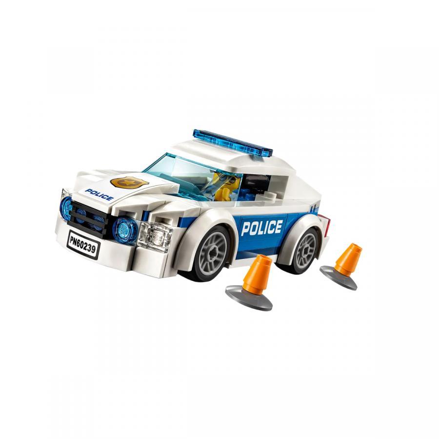 Купить LEGO АВТОМОБИЛЬ ПОЛИЦЕЙСКОГО ПАТРУЛЯ, LEGO (60239)_1
