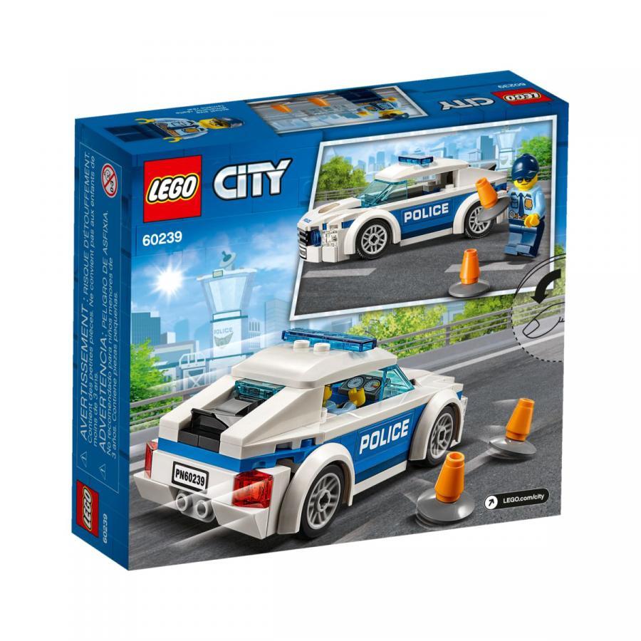 Купить LEGO АВТОМОБИЛЬ ПОЛИЦЕЙСКОГО ПАТРУЛЯ, LEGO (60239)_3