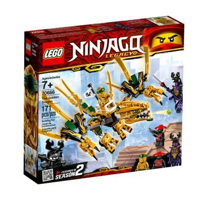 Купить LEGO ЗОЛОТОЙ ДРАКОН, LEGO (70666)