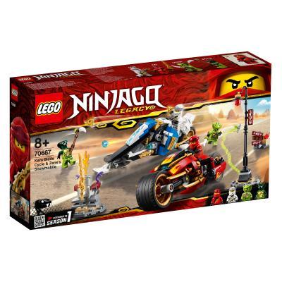 Купить LEGO МОТОЦИКЛ-КЛИНОК КАЯ И СНЕГОХОД ЗЕЙНА, LEGO (70667)