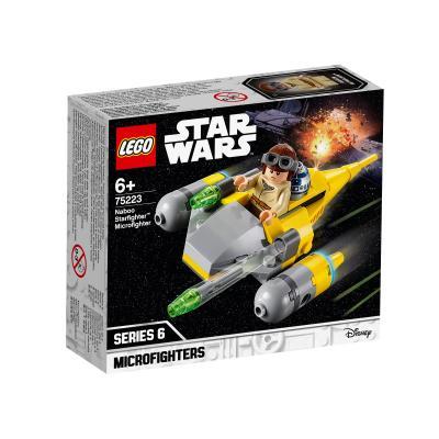 Купить LEGO МИКРОФАЙТЕРЫ: ИСТРЕБИТЕЛЬ С ПЛАНЕТЫ НАБУ, LEGO (75223)