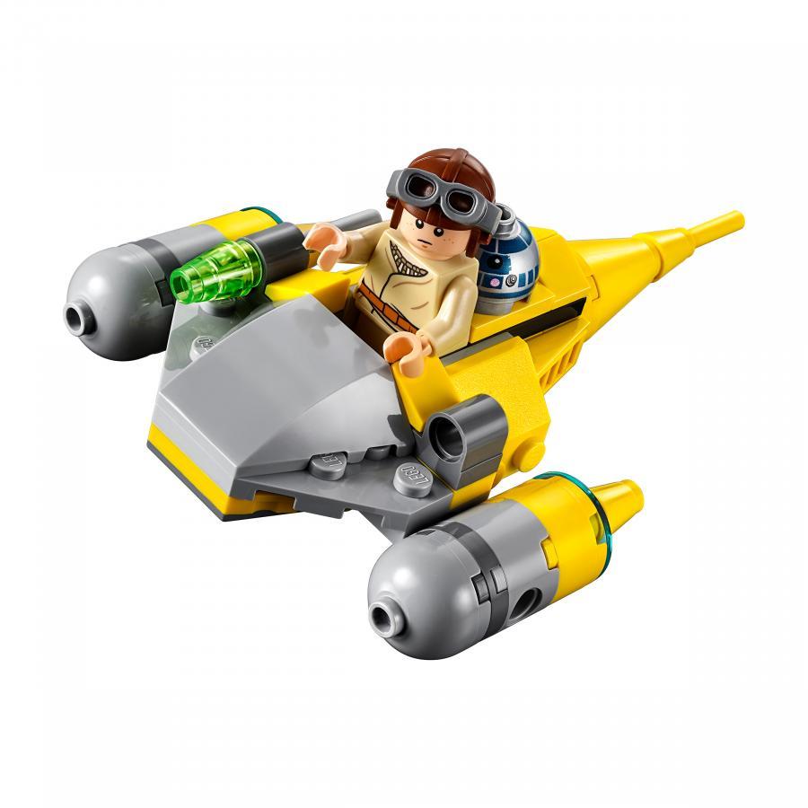 Купить LEGO МИКРОФАЙТЕРЫ: ИСТРЕБИТЕЛЬ С ПЛАНЕТЫ НАБУ, LEGO (75223)_1