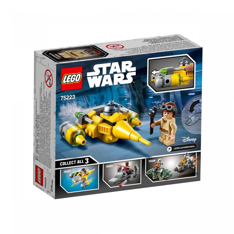 Купить LEGO МИКРОФАЙТЕРЫ: ИСТРЕБИТЕЛЬ С ПЛАНЕТЫ НАБУ, LEGO (75223)_3