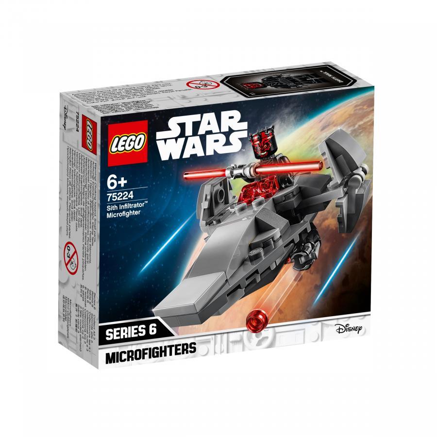 Купить LEGO МИКРОФАЙТЕРЫ: КОРАБЛЬ-ЛАЗУТЧИК СИТХОВ, LEGO (75224)