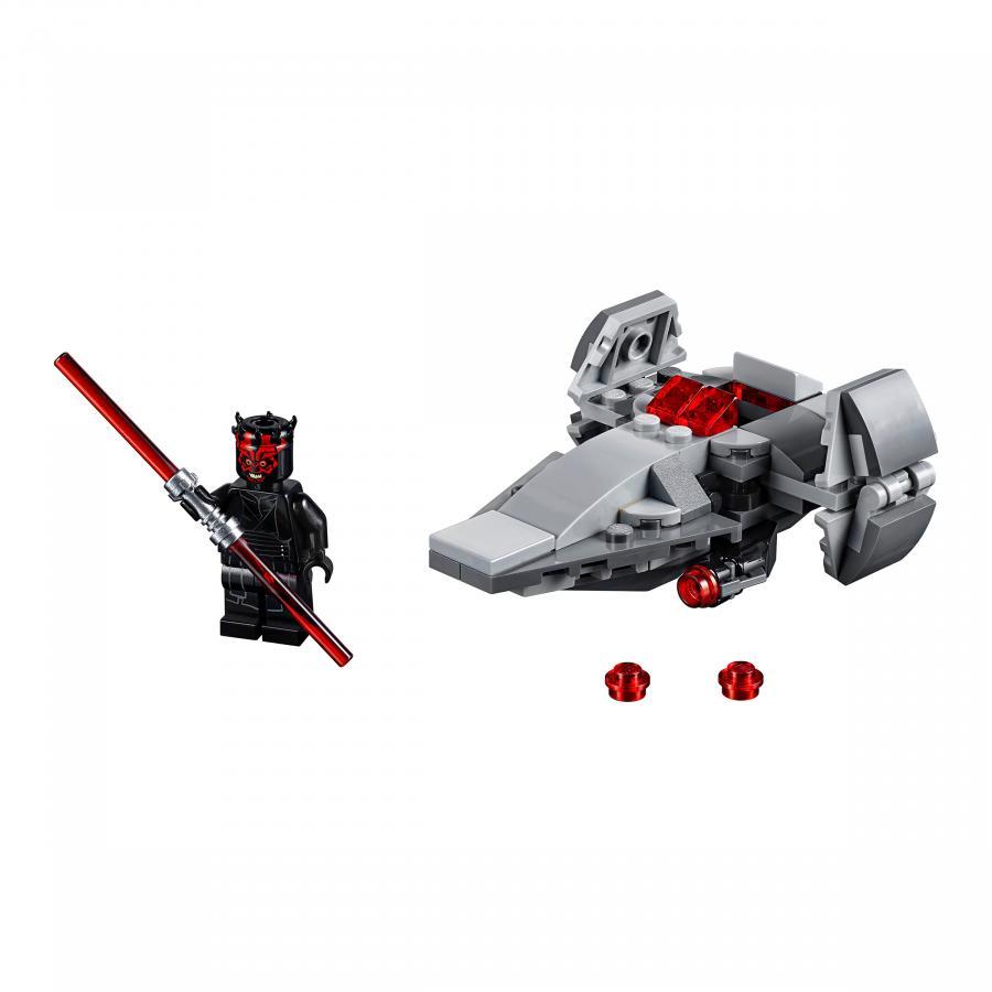 Купить LEGO МИКРОФАЙТЕРЫ: КОРАБЛЬ-ЛАЗУТЧИК СИТХОВ, LEGO (75224)_1