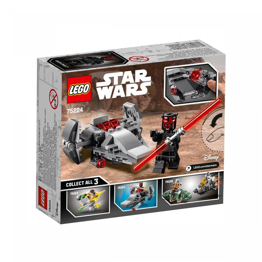 Купить LEGO МИКРОФАЙТЕРЫ: КОРАБЛЬ-ЛАЗУТЧИК СИТХОВ, LEGO (75224)_3