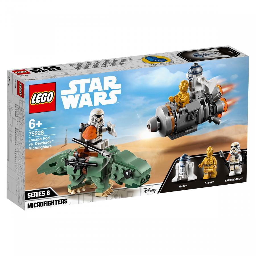 Купить LEGO СПАСАТЕЛЬНАЯ КАПСУЛА МИКРОФАЙТЕРЫ: ДЬЮБЭК, LEGO (75228)