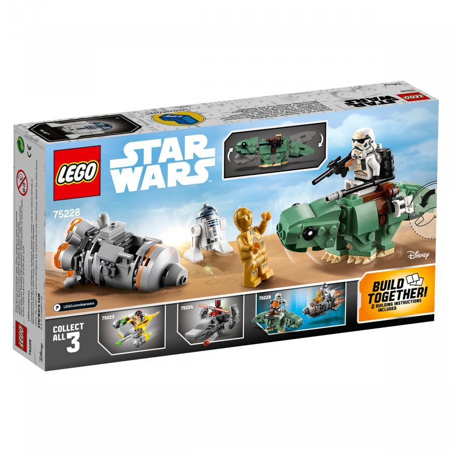 Купить LEGO СПАСАТЕЛЬНАЯ КАПСУЛА МИКРОФАЙТЕРЫ: ДЬЮБЭК, LEGO (75228)_4