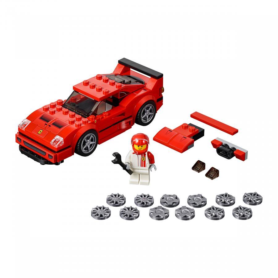 Купить LEGO АВТОМОБИЛЬ FERRARI F40 COMPETIZIONE, LEGO (75890)_3