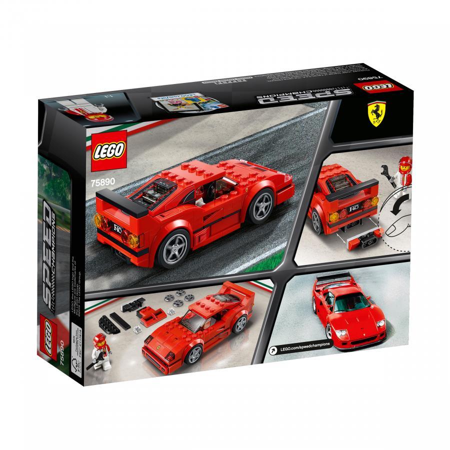 Купить LEGO АВТОМОБИЛЬ FERRARI F40 COMPETIZIONE, LEGO (75890)_2