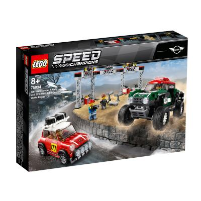 Купить LEGO АВТОМОБИЛИ 1967 MINI COOPER S RALLY И 2018 MINI JOHN COOPER WORKS BUGGY, LEGO (75894)