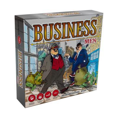 Купить НАСТОЛЬНАЯ ИГРА BUSINESSMEN, (РУС.), STRATEG (30556)
