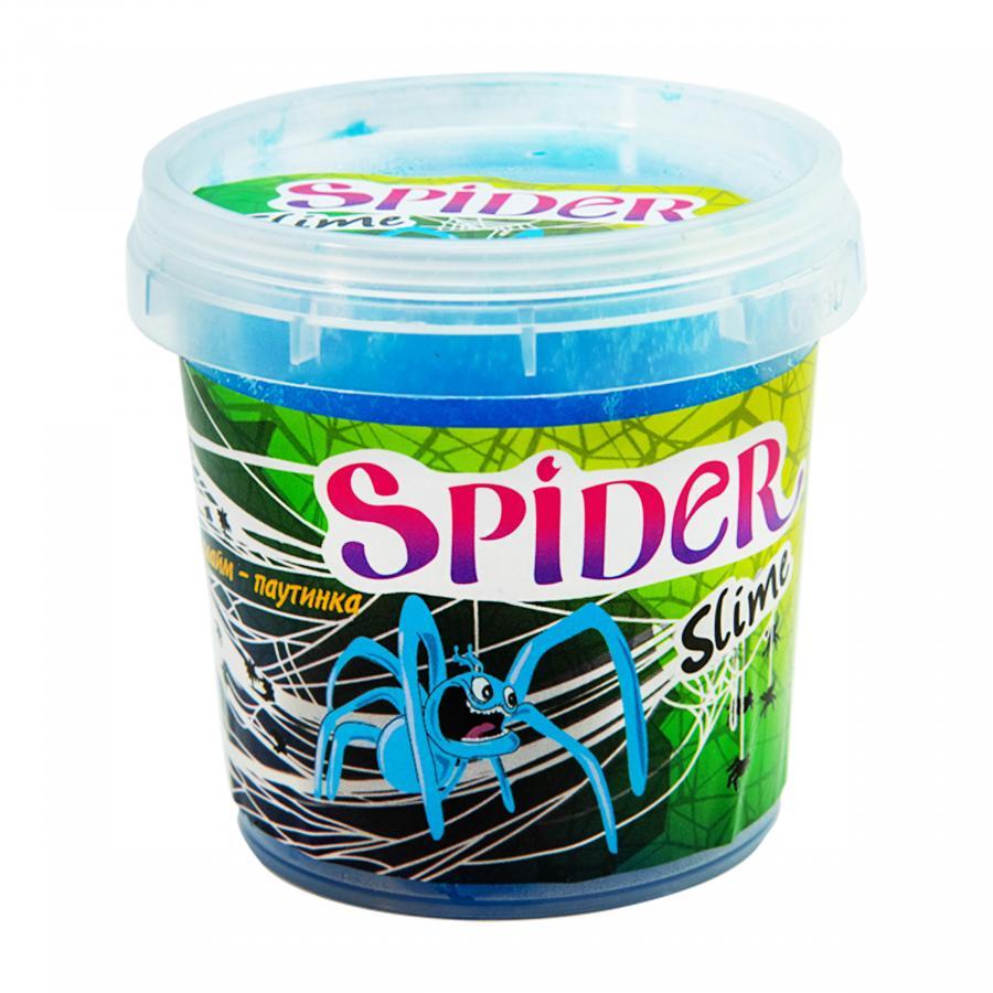 Купить СЛАЙМ SPIDER SLIME, 0.125 КГ, ЦВЕТ В АССОРТ., STRATEG (71835)_2