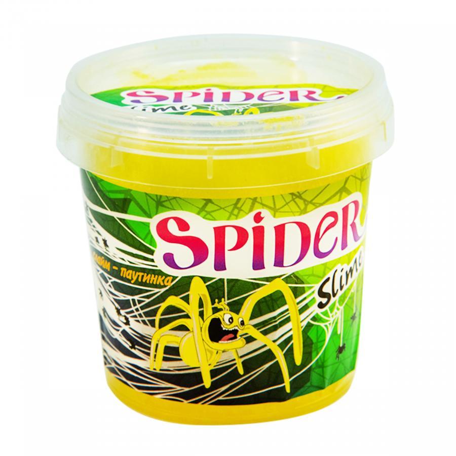 Купить СЛАЙМ SPIDER SLIME, 0.125 КГ, ЦВЕТ В АССОРТ., STRATEG (71835)_4