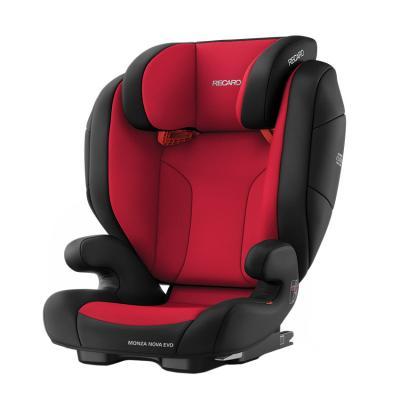 Купить АВТОКРЕСЛО MONZA NOVA EVO SEATFIX RACING RED, КРАСНО-ЧЕРНОЕ, RECARO (00088012230050)