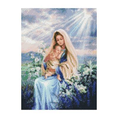 Купить АЛМАЗНАЯМОЗАИКА«МАРИЯСИИСУСОМВЛИЛИЯХ»,30Х40СМ,STRATEG(HX047)