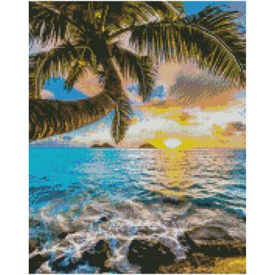 Купить АЛМАЗНАЯМОЗАИКА«ПАЛЬМАИМОРЕ»,40Х50СМ,STRATEG(FA0009)