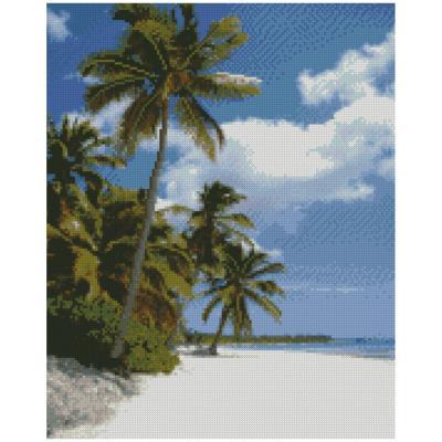 Купить АЛМАЗНАЯМОЗАИКА«ПОБЕРЕЖЬЕМАЛЬДИВ»,40Х50СМ,STRATEG(FA0010)