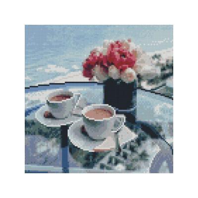 Купить АЛМАЗНАЯМОЗАИКА«ЗАВТРАКУМОРЯ»,30Х30,STRATEG(CA-0005)