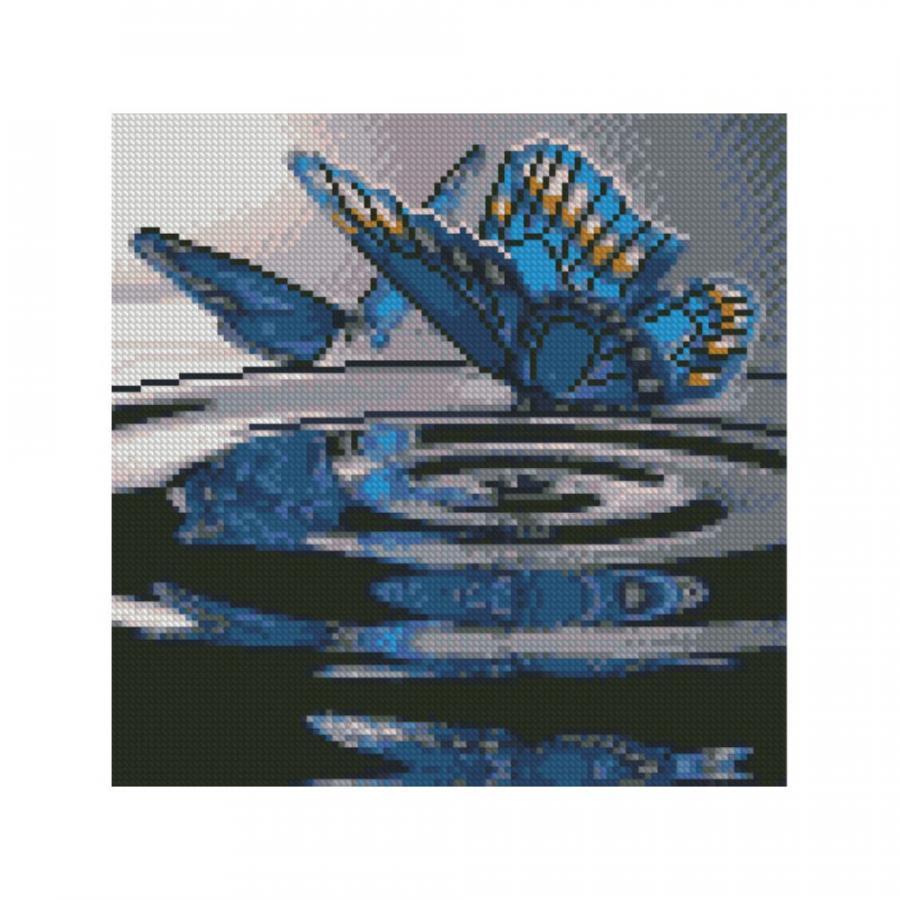 Купить АЛМАЗНАЯМОЗАИКА«БАБОЧКИНАВОДЕ»,30Х30,STRATEG(CA-0026)