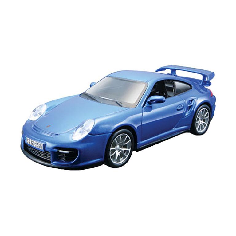 bburago Porsche 911 GT2, 1:32 (голубой), Bburago (18-45125)