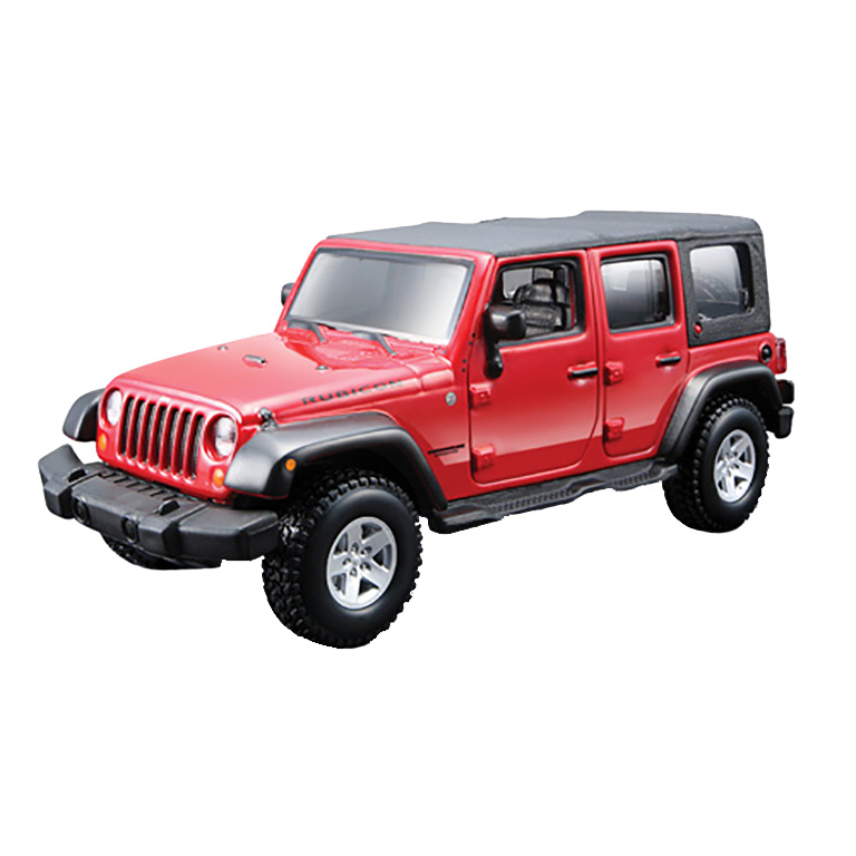 bburago Автомобиль Jeep Wrangler Unlimited Rubicon, 1:32, Bburago (18-45121)