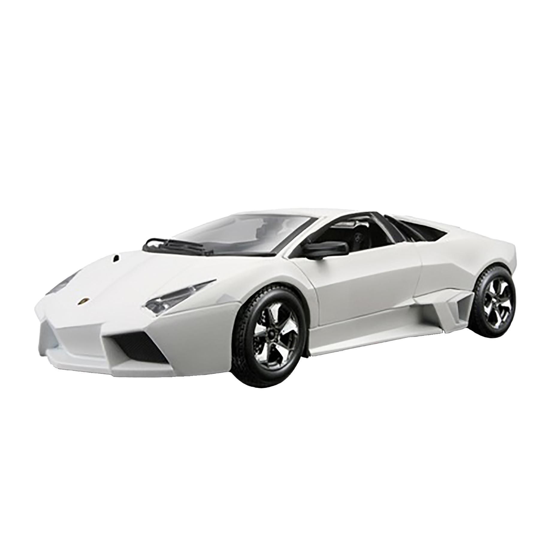 bburago Автомобиль Lamborghini Reventon (матовый белый), 1:24, Bburago (18-21041)