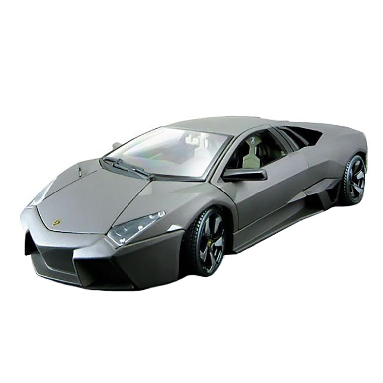 bburago Автомобиль Lamborghini Reventon (серый металлик), 1:24, Bburago (18-21041)