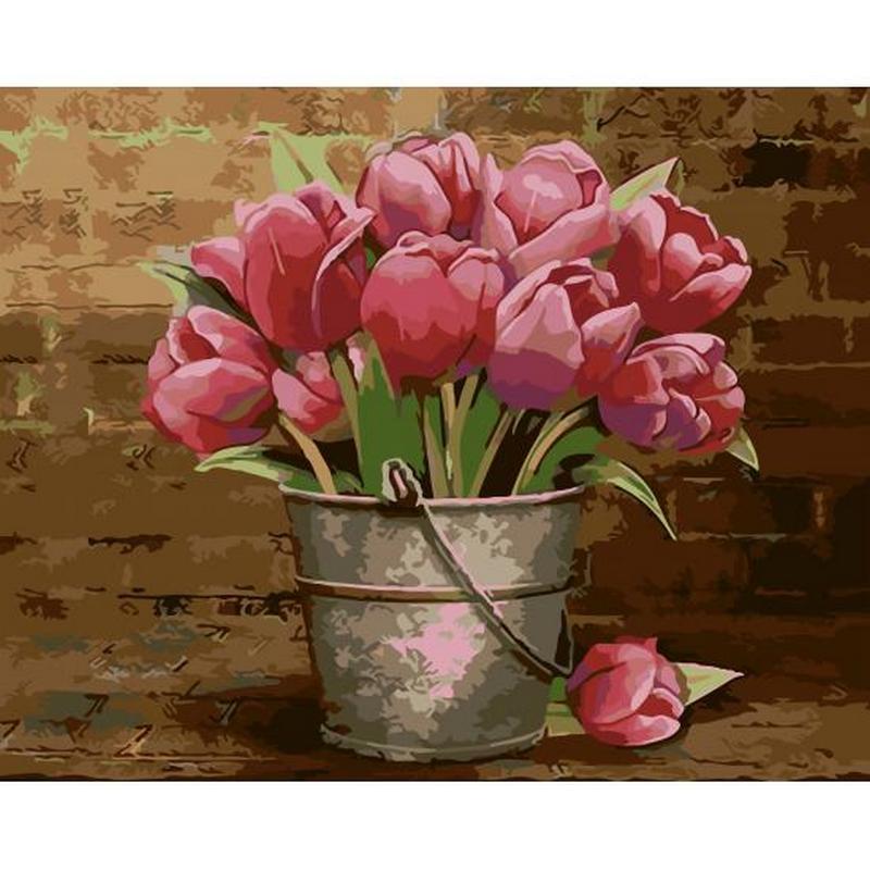 artstory Картина по номерам Тюльпаны, 40х50 см, ArtStory (AS0009)
