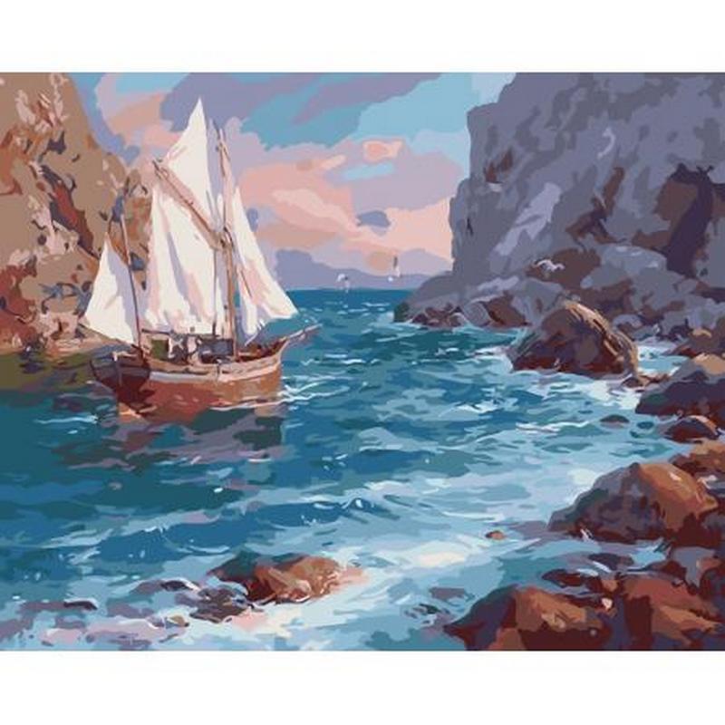 artstory Картина по номерам У берега, 40х50 см, ArtStory (AS0021)