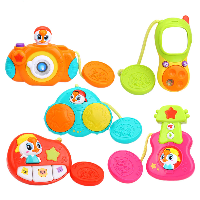 «Комплект подвесных музыкальных игрушек» (3111, Huile Toys) – это яркие и  интересные игрушки, которые надолго завладеют вниманием ребенка. e3a7c46f275