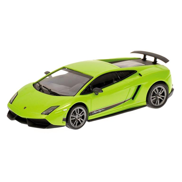 bburago Авто-конструктор Lamborghini Murcielago LP670-4 SV (зеленый), 1:24, Bburago (18-25096)