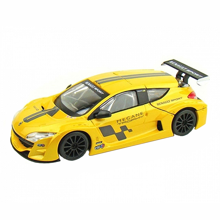 bburago Авто-конструктор Renault Megane Trophy (желтый), 1:24, Bburago (18-25097)