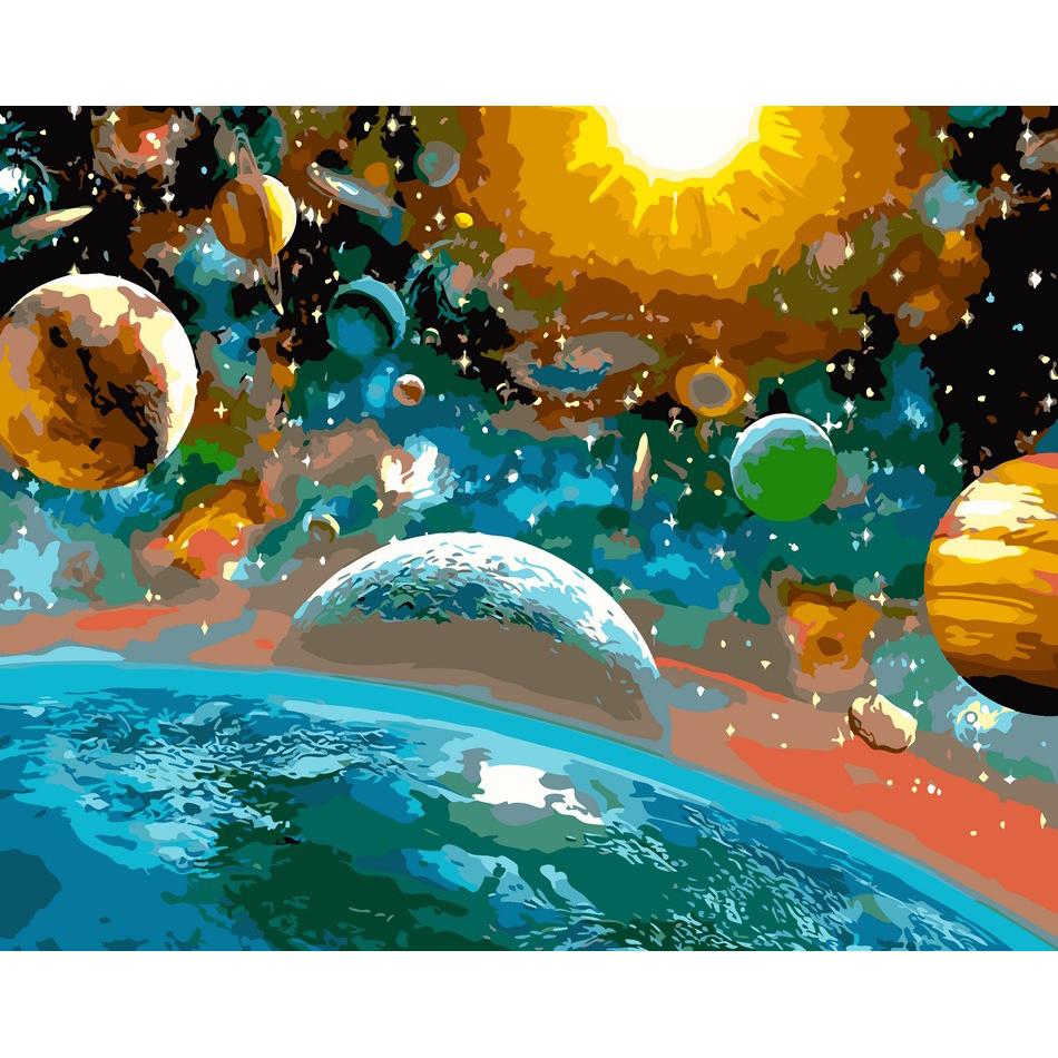 artstory Картина по номерам Красота вселенной, 40х50 см, ArtStory (AS0104)