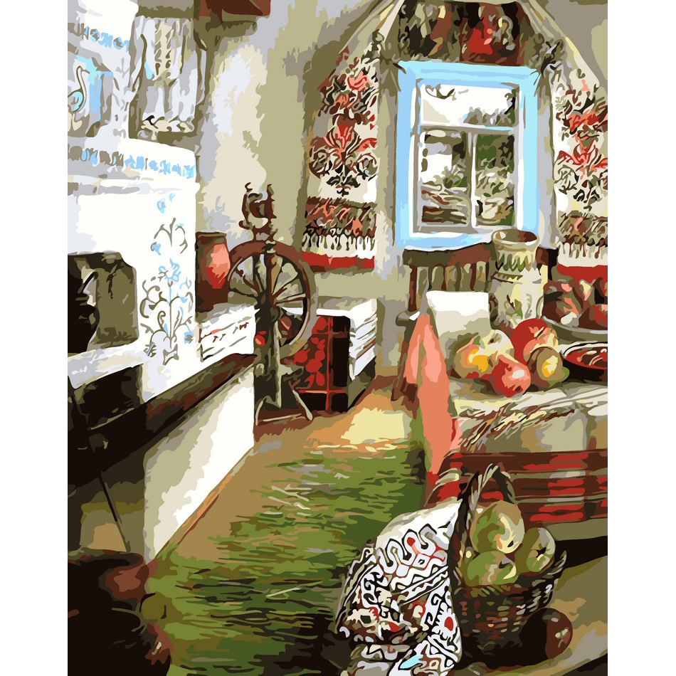 artstory Картина по номерам Украинский уют, 40х50 см, ArtStory (AS0107)