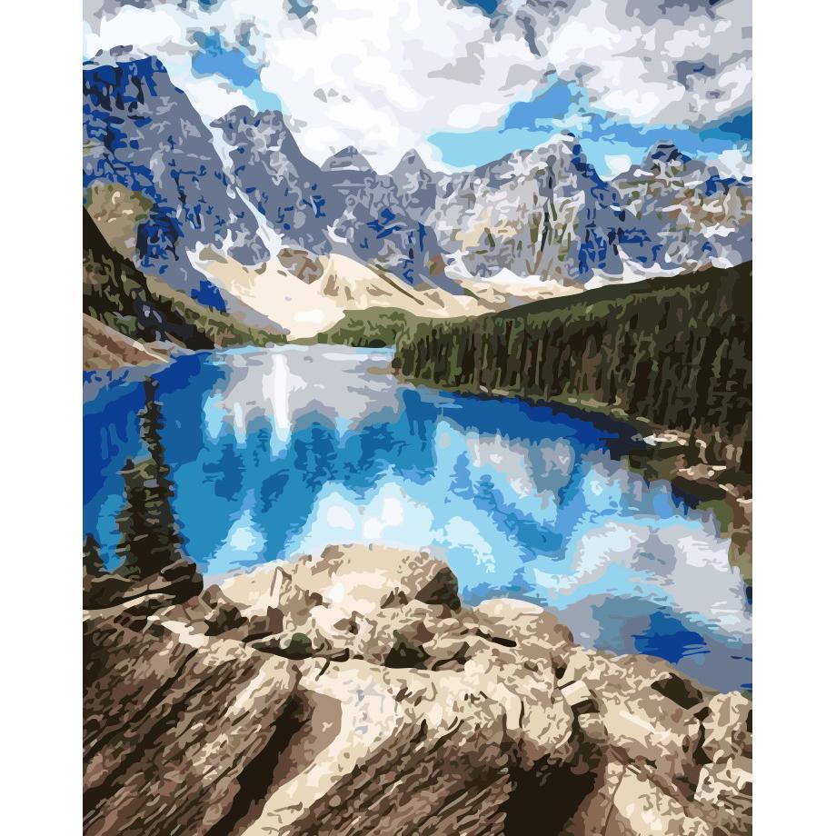 artstory Картина по номерам Удивительные горы, 40х50 см в коробке, ArtStory (AS0150)