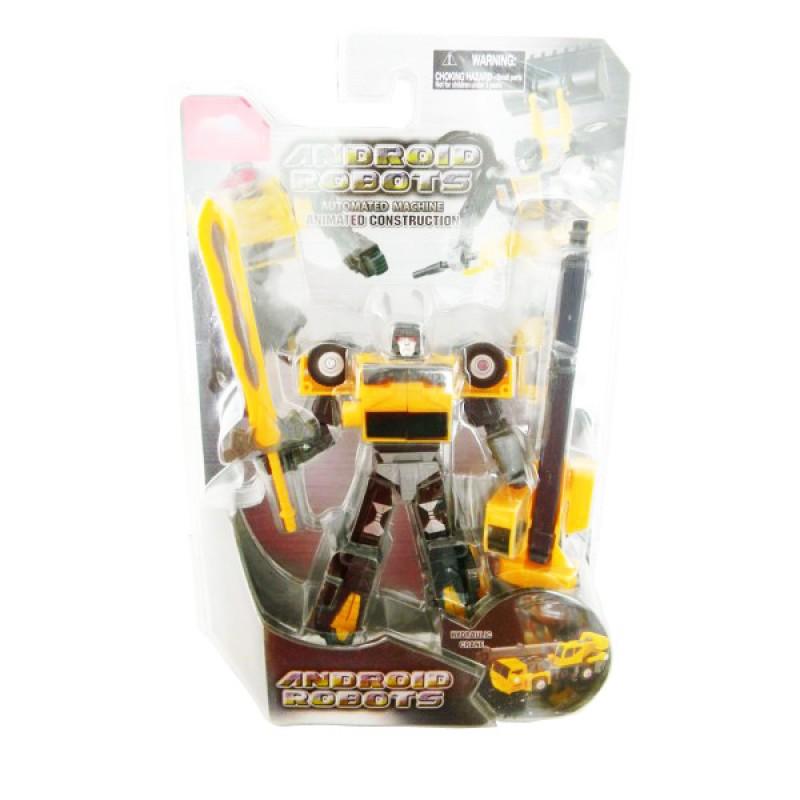 boldway Робот-трансформер Автокран, желтый, BoldWay (10788-5)