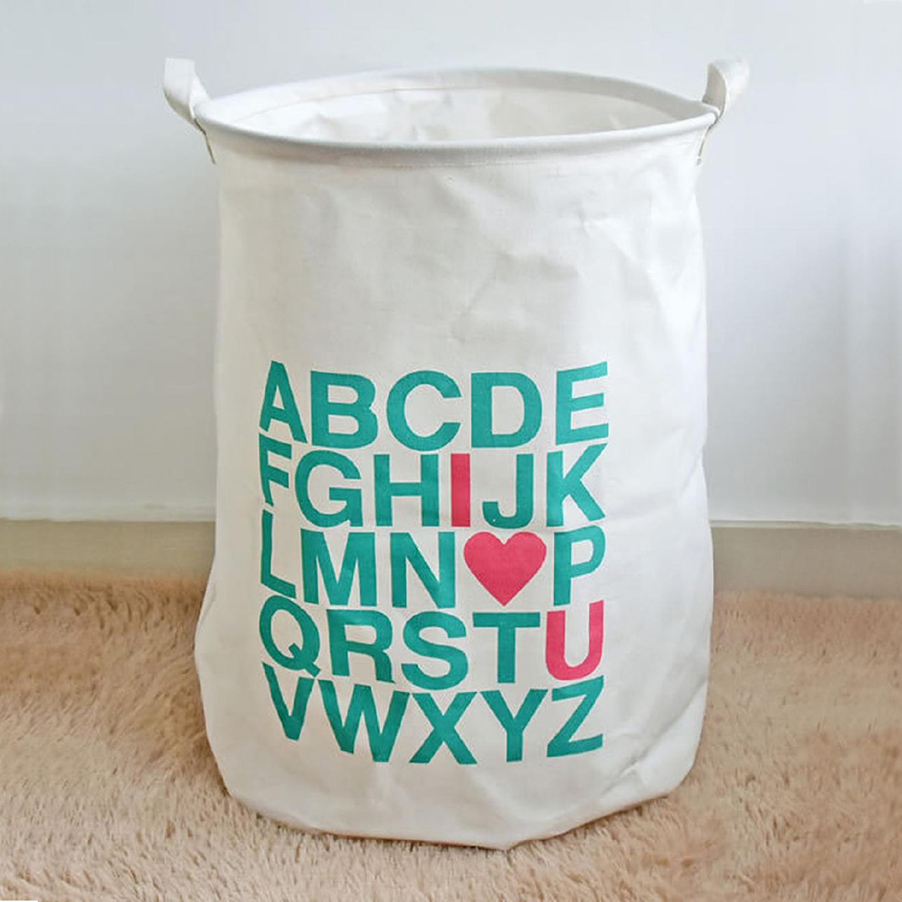berni Корзина для игрушек Alphabet, Berni (45707)