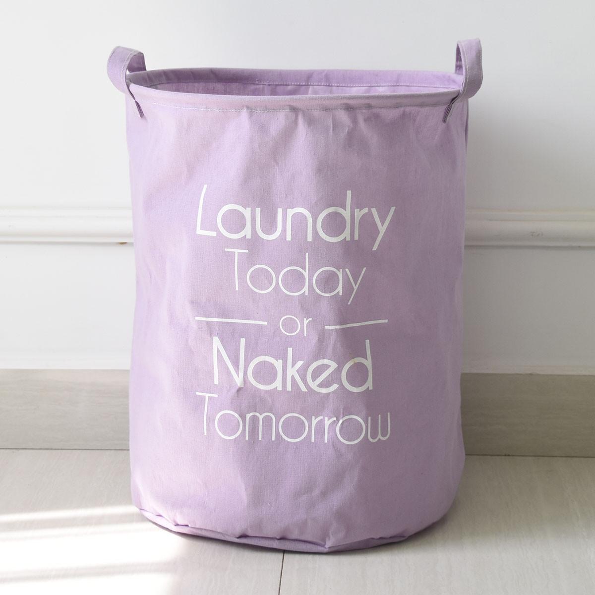 berni Корзина для игрушек Laundry Today lilac, 35х45 см, Berni (44514)