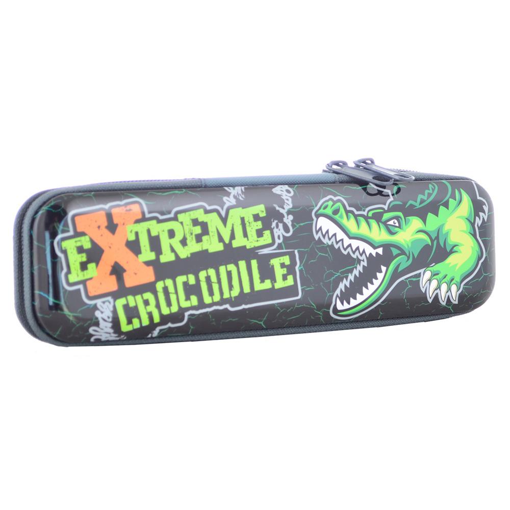 yes Пенал металлический Extreme crocodile, 20,5х5,5х3 см, YES (531885)