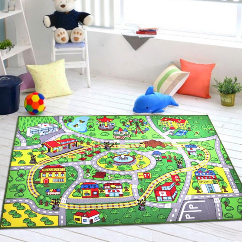 berni Коврик для детской комнаты City, 100х150 см, Berni (45987)