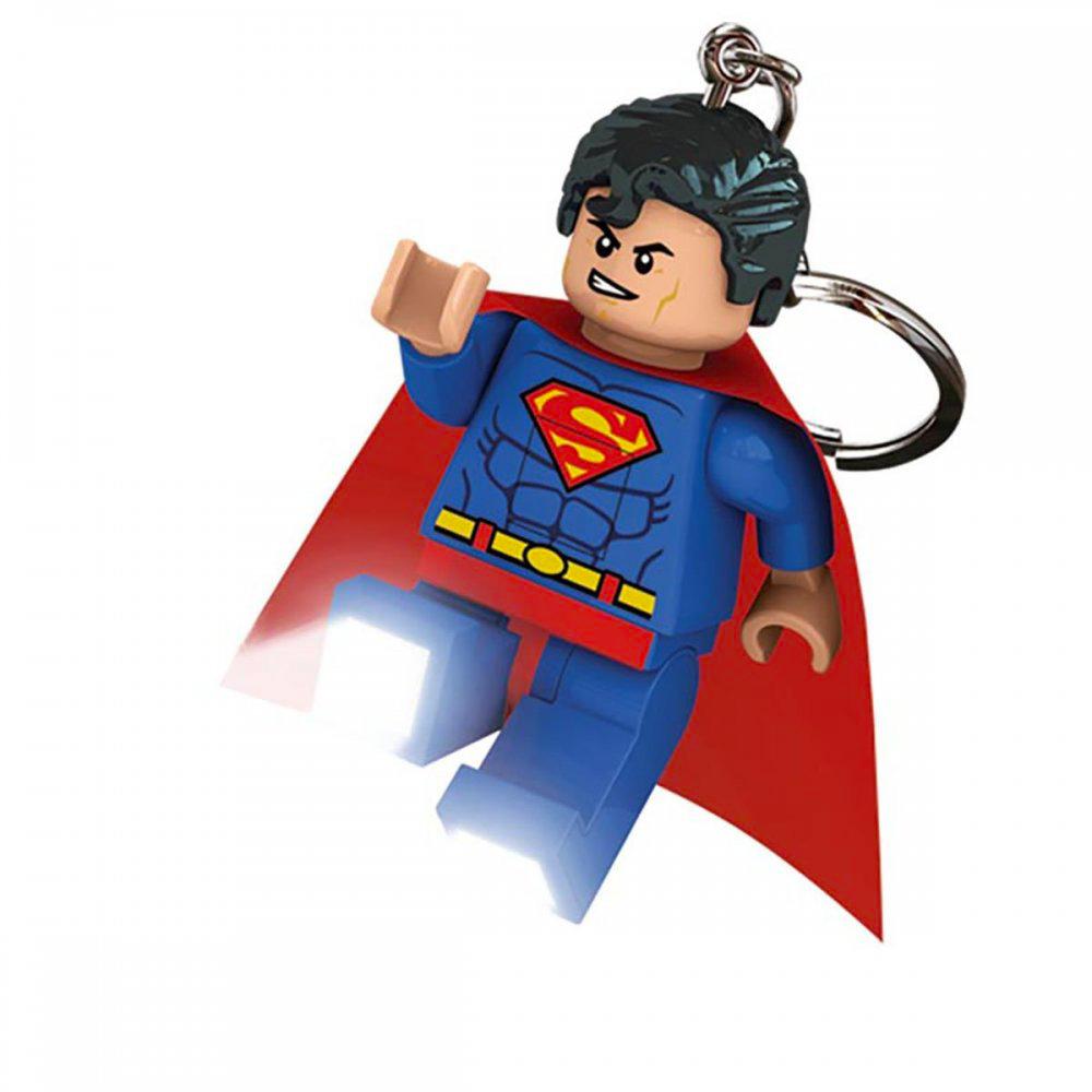 iq Брелок - фонарик Супермен, Super Heroes, IQ (LGL-KE39)