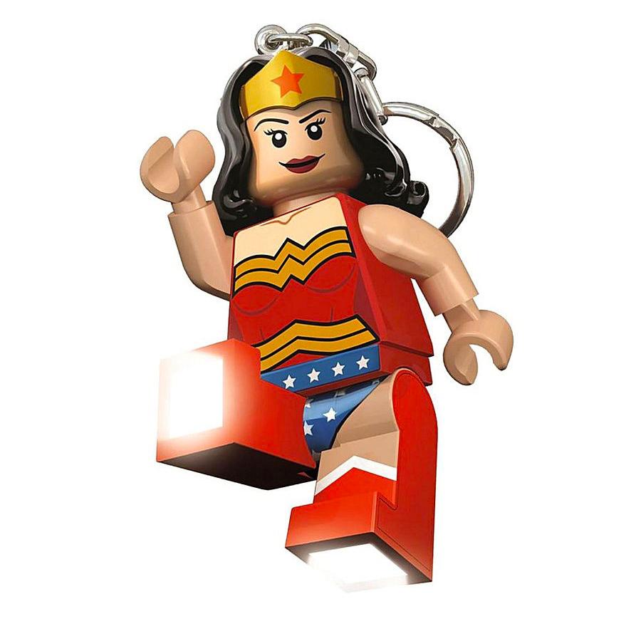 iq Брелок - фонарик Чудо-женщина, Super Heroes, IQ (LGL-KE70)