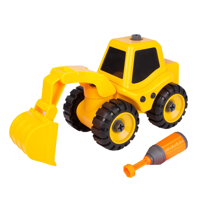 kaili toys Трактор с экскаваторной установкой, Kaili Toys (KL702-1)
