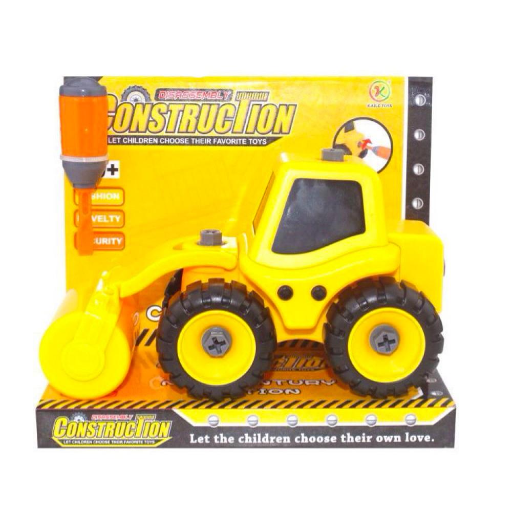 kaili toys Трактор с катком, Kaili Toys (KL702-4)