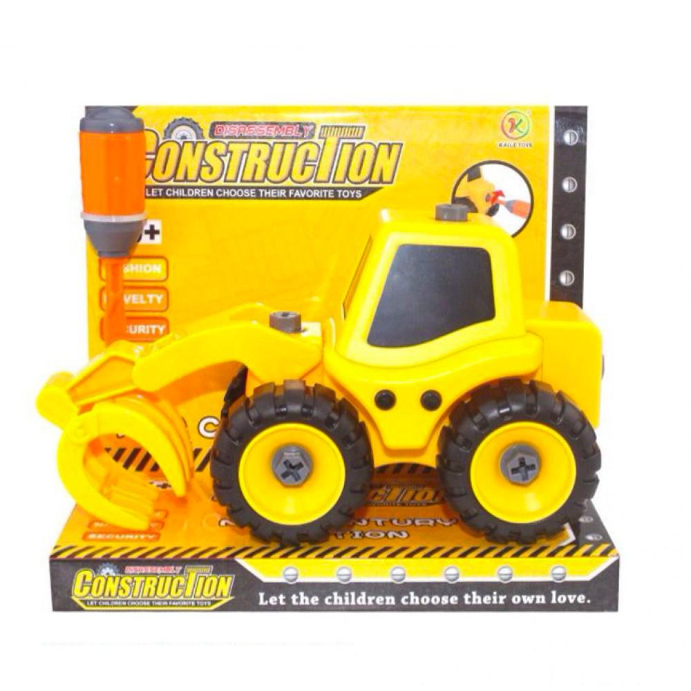 kaili toys Трактор с погрузчиком, Kaili Toys (KL702-5)